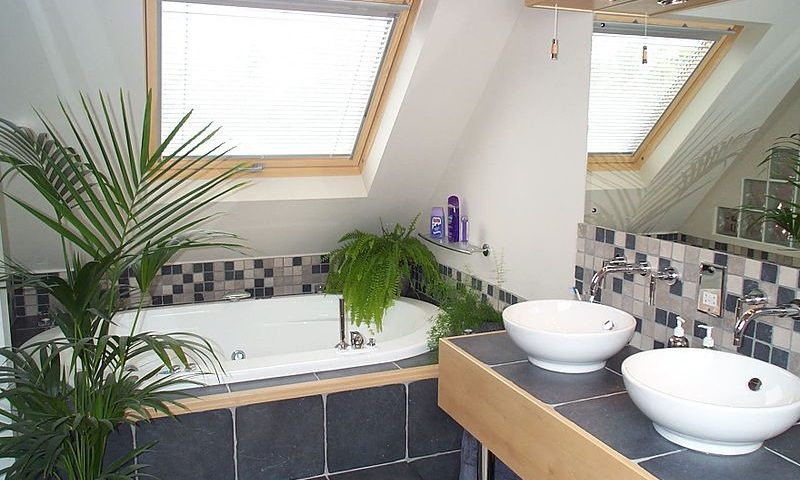 Converted Attic to Bathroom