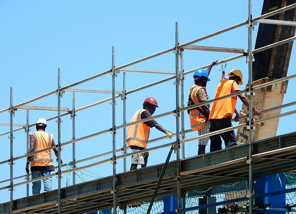 Builders Scafolding
